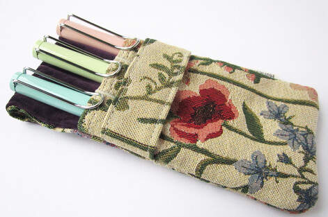 Georgie custom 3 pen pouch