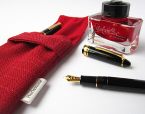 Are you ready for a racy red pen pouch?