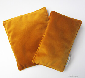 Mustard Pen Pillow - Small/Large from NZ$16.00