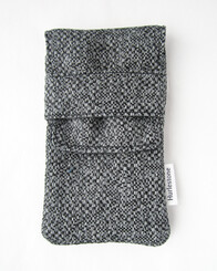 Chequer Pen Pouch (2 pens)